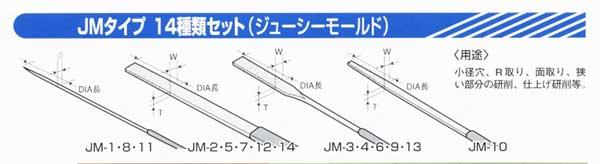 JMダイヤモンドタイプ/14種セット